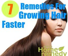 7 Home Remedies For Growing Hair Faster - Natural Treatments & Cure For Growing Hair Faster | Search Home Remedy