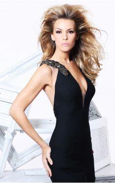 Black Mermaid Floor-length V-neck Dress Shop Online - 4p179 - sku105130427a77