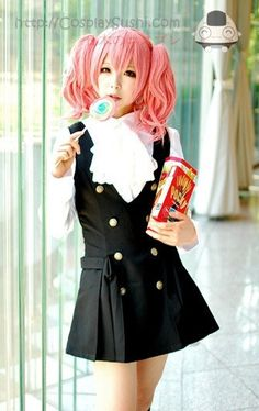 Inu x Boku Ss Karuta Roromiya Pink Cosplay Wig <3 SHOP NOW! http://cosplaysushi.com/products/inu-x-boku-ss-karuta-roromiya-pink-cosplay-wig #cosplay #wig #cosplaysushi #pink #inu #boku #karuta #roromiya