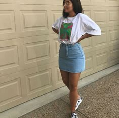 Nice, casual outfit ideas that you can try as soon as possible - Women Dresses for Every Age! Outfit Jeans, Jean Skirt Outfits, Jeans Outfit Summer, Summer Jeans, Jeans Dress, Dress Outfits, Dress Attire, Dress Shoes, Mode Outfits