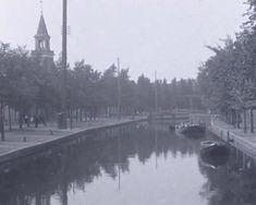 Het Spui omstreeks 1922