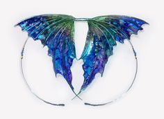 Candy Blue Fairy Wings