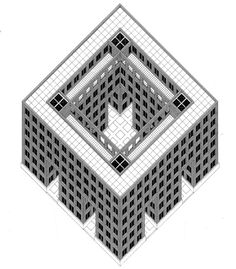 archiveofaffinities:    O.M. Ungers, Block 1 IBA, Berlin, Germany, 1981-1987