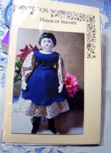 tall Geri Milano Clothing Doll Pattern Basic Dress 14 to 16 in