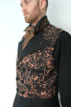 The Amberley - Steampunk Men's Waistcoat by ~dreadnoughtdesigns on deviantART