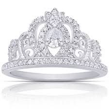 Shop for Dolce Giavonna Sterling Silver Cubic Zirconia Crown Ring. Get free delivery On EVERYTHING* Overstock - Your Online Jewelry Shop! Princess Tiara Ring, Fashion Rings, Fashion Jewelry, Cubic Zirconia Engagement Rings, Best Diamond, Beautiful Rings, Ring Designs, Jewelry Sets, Gemstone Jewelry