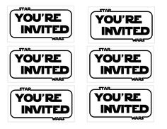 The Contemplative Creative: Star Wars Party Invitation