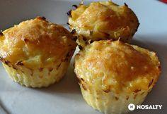Potato Dishes, Potato Recipes, Good Food, Yummy Food, Tasty, Quiche Muffins, Vegas, Hungarian Recipes, Cupcakes