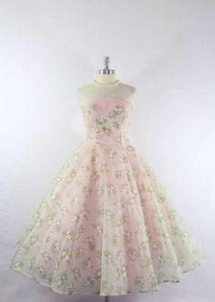 2950's party dress