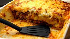 Zapiekanka z ziemniakami i mięsem mielonym | Smaczne-Przepisy.TV Polish Recipes, Food And Drink, Potatoes, Dinner, Eat, Ethnic Recipes, Lasagna, Dining, Potato