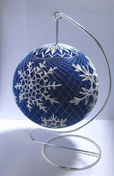 Snowflake Temari