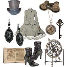 Je suis steampunk ladies, je veux être, je veux aller voir ça, je veux vivre ça, je vais où pour ça ????!!!!