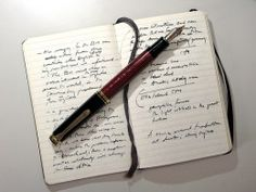 What to put in a writers notebook