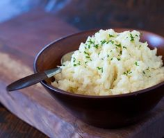 Mashed Cauliflower Potatoes Recipe - I tried it and it was okay. Still has cauliflower taste but also similar to mashed potatoes. Used masher instead. Kitchen Recipes, Cooking Recipes, Healthy Recipes, Colliflower Recipes, Vegetarian Recipes, Recipies, Side Dish Recipes, Vegetable Recipes, Side Dishes