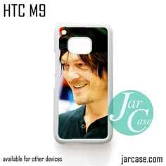 Norman Reedus as Daryl Dixon with the hat - Z Phone Case for HTC One M9 case and other HTC Devices