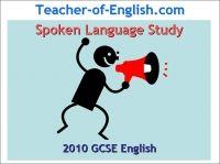 Spoken Language Study Key Stage 4 Powerpoint English Teaching Resource