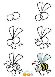 how to draw a b the popdot artist please join me on the twitter lara elliott elliott elliott tucker byrd be my friend on the facebook - Simple Cartoon Drawings For Kids