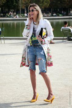 Thestreetfashion5xpro: In the Street...Helena Bordon...Jardin De Tuileries, Paris