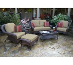 Something perfect for the out doors. Urbanoutdoorsliving.com has got some of the best whicker furniture that you can buy.