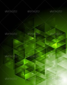 Abstract hi-tech design with triangles #GraphicRiver Dark green technology background. Vector design eps 10 Created: 29September12 GraphicsFilesIncluded: JPGImage #VectorEPS #AIIllustrator Layered: No MinimumAdobeCSVersion: CS Tags: abstract #background #bend #bright #card #color #concept #design #digital #drawing #elegant #element #geometrical #gradient #hi-tech #illustration #light #line #modern #pattern #poster #shape #stripe #style #tech #technology #template #texture #triangle #vector