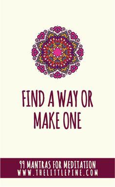 facebook0pinterest294twitterprintfriendly1 Everyone has a mantra… …Whether…