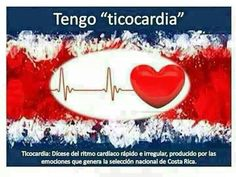 Ticocardia: lo q me da en cada partido! #sele #costarica
