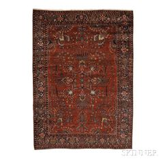 Sarouk Carpet, West Persia, early 20th century,  12 ft. 6 in. x 9 ft. 2 in.