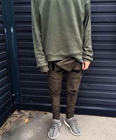 Leather joggers / Yeezy