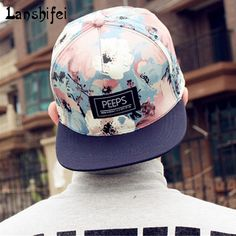 0c20f8a5d60 2017 fashion new floral adjustable spring summer cap baseball