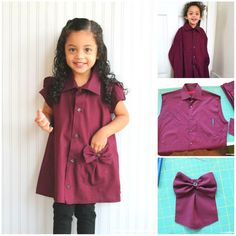 How to turn old shirts into a charm .-Как превратить старые рубашки в очаровател… How to turn old shirts into charming summer dresses for girls - Little Dresses, Little Girl Dresses, Girls Dresses, Fashion Kids, Cute Summer Dresses, Cute Dresses, Old Shirts, Girl Shirts, Refashioning
