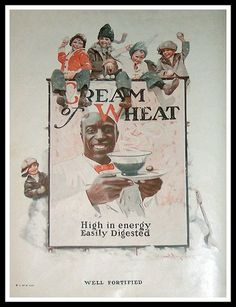 Cream of Wheat Vintage Ad, 1923