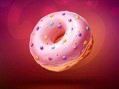 Donut Illustration Design
