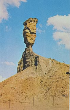 the old people of Namibia called it the finger of God it don't exist anymore because of erosion.