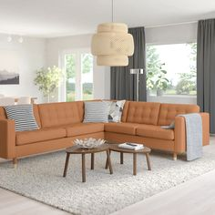 Brown Sectional, Leather Sectional Sofas, Living Room Sectional, Corner Sectional, Ikea Corner Sofa, Ikea Sofa, Ikea Sectional, Ikea Leather Sofa, Angles