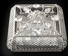 Elegant Arras Wedding Silver Treasure Chest 13 Silver Coins Included Boxed  - Click image twice for more info - See a larger selection of wedding accessories at http://zweddingsupply.com/product-category/other-accessories-entourage/ - wedding, fashion, wedding ideas, wedding style, entourage .