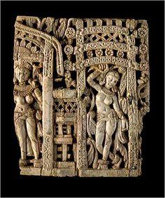 Afghanistan's Hidden Treasures -  Ivory Bactrian culture,Kabul  Museum- Aryan Indian influence
