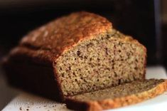 Almond Bread (with un-blanched almond flour) Gluten Free by Simply Vintagegirl\ Easy Bread Recipes, Quick Bread, Gluten Free Recipes, Low Carb Recipes, Healthy Recipes, Almond Flour Bread, Almond Flour Recipes, Flaxseed Bread, Paleo Bread
