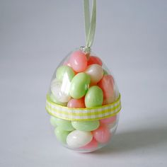 DIY-Candy Filled Easter Eggs