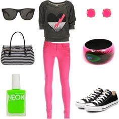 Rock the 80's Look, created by kaytay520