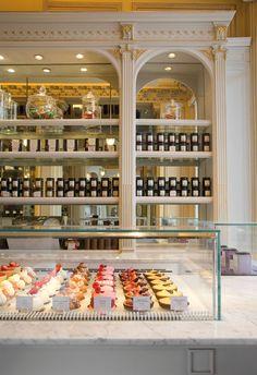 Angelina pastry shop and tea house Rue de Rivoli by Agence Versions