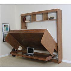 "Learn even more details on ""murphy bed diy"". Visit our internet site. Cama Murphy, Murphy Bed Desk, Murphy Bed Plans, Coastal Master Bedroom, Modern Bedroom, Modern Desk, Furniture Grade Plywood, Modern Murphy Beds, Hidden Bed"