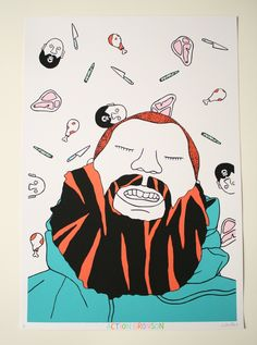 action bronson, gangsta doodles