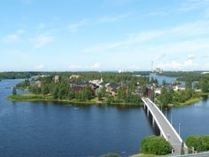 Pikisaari, Oulu, Finland.