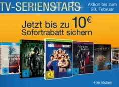 """Amazon: Bis zu zehn Euro Rabatt auf bereits reduzierte Serienstaffeln https://www.discountfan.de/artikel/technik_und_haushalt/bis-zu-zehn-euro-rabatt-auf-bereits-reduzierte-serienstaffeln.php Noch bis zum kommenden Sonntag lockt bei Amazon ein Serien-Rabatt von fünf bis zehn Euro – je nach Einkaufswert. Mit dabei sind Top-Serien wie """"Game of Thrones"""", """"True Detective"""" und """"True Blood"""". Durch Kombination der Aktionen können sich Di"""