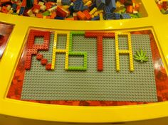 How I spend my time in the lego store xD