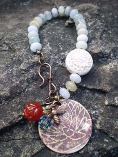 Zen Garden Bracelet by Patty Gasparino