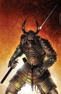 Samurai Art | samurai concept art pin up by *gsemkow on deviantART
