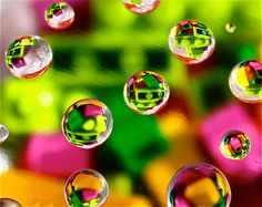 This is unphotoshopped!!  Droplets of Color - 8x10 - Photograph for sale on Etsy by Pick a Pic.  <3