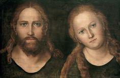 Titre de l'image : Lucas Cranach l'Ancien - Christus und Maria Magdalena