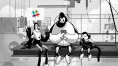 Slack approached us with a song from the 40s, the deep affection for high fives and the idea of building a spaceship as a conduit for amazingness. Mixing b/w and colour, traditional animation and 3D, we took these cuties to space to make some new friends.   All kinds of people, on all kinds of teams, use Slack to do amazing things.     CREDITS:   Client: Slack CEO/Creative Director: Stewart Butterfield CMO: Bill Macaitis Marketing Director: Brad Morris Project Manager: Jamie Rosen...